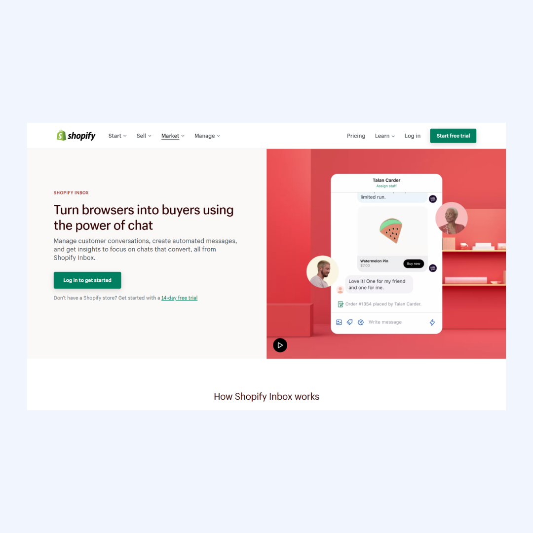 Live chat apps for shopify